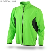 James & Nicholson Men's Running Jacket