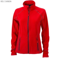 James & Nicholson Damen Struktur Fleece Jacke