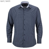 "James & Nicholson Men's Shirt ""Dots"""