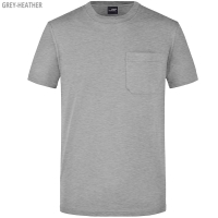 James & Nicholson Herren Round-T Poket