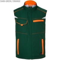 COLOR Workwear Softshell Weste - mit Futter